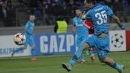 Zenit schießt Leverkusen ins Achtelfinale