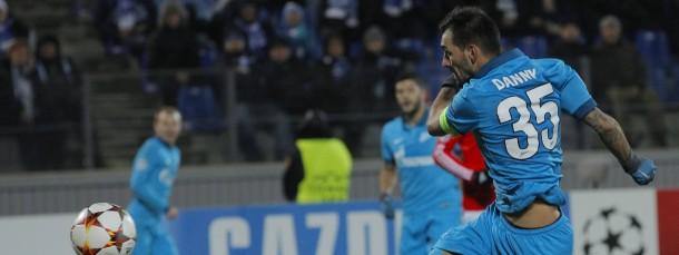 Siegtorschütze für Zenit und Bayer: Danny trifft gegen Benfica