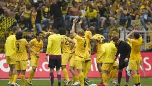 Dortmund auf dem Sprung nach Europa