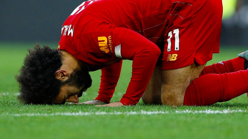 Mohamed Salah erzielte beide Liverpooler Tore gegen Watford.
