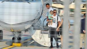 Ronaldo kommt mit dem eigenen Flieger