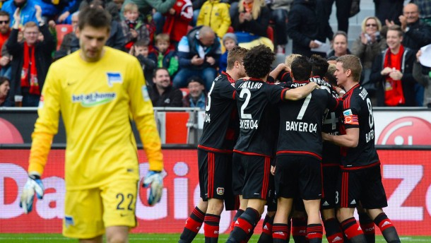 Leverkusen reif für die Champions League