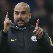 Wo geht es hier nach oben? Manchester-City-Trainer Pep Guardiola.