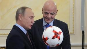 Die Schlachtfelder des Wladimir Putin