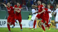 Die Kickers stürmen in die zweite Runde des DFB-Pokals