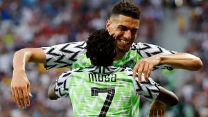 Musa macht's für Nigeria