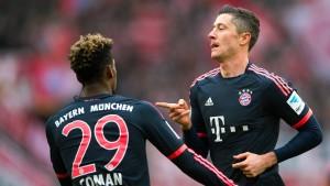 Bayern mit angezogener Handbremse