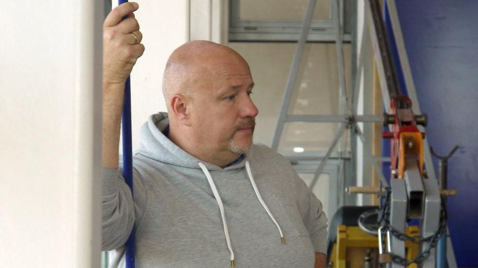 Frustration im Angesicht der Pandemie: Wurf-Trainer Steffen Reumann