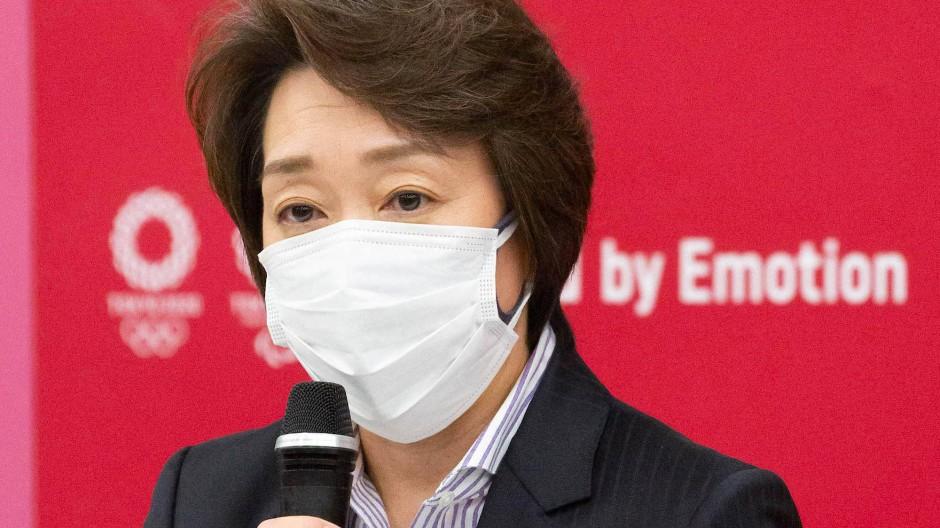 Seiko Hashimoto ist die neue Chefin des Organisationskomitees der Olympischen Spiele in Tokio.