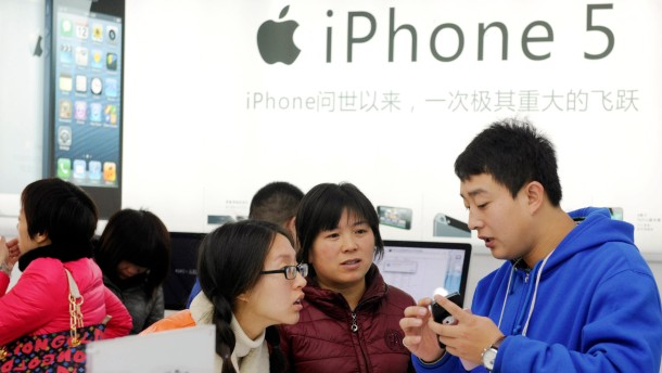 Rund zwei Millionen Exemplare des iPhones 5 wurden am ersten Wochenende abgesetzt