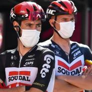 Kritik am Hygienekonzept beim Giro d'Italia: Die Radprofis fürchten um ihre Gesundheit.