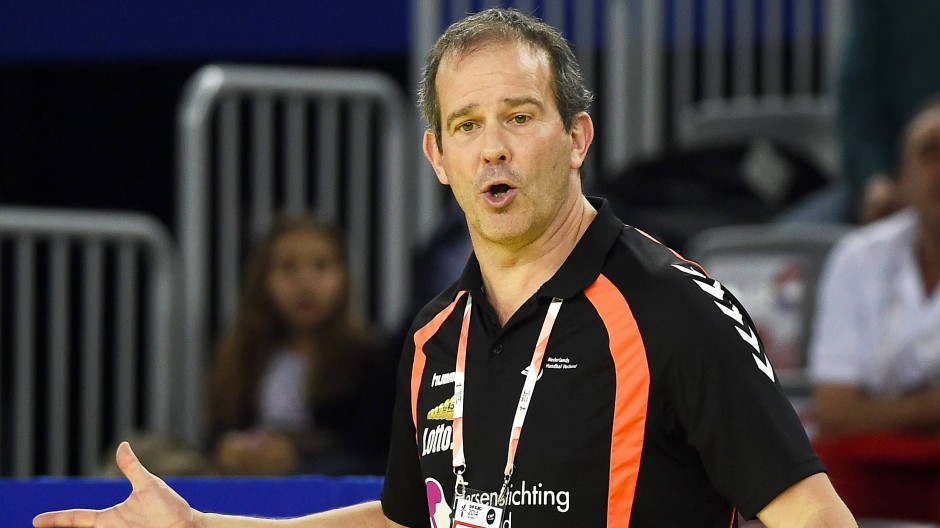 Der neue Mann für die deutschen Frauen: Handball-Trainer Henk Groener