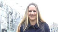 Vicki Sparks ist die erste Frau in England, die ein WM-Spiel kommentierte.