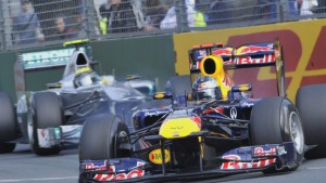Weltmeister Vettel ist in Form