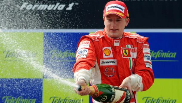 Ferrari erzwingt die Vorfahrt