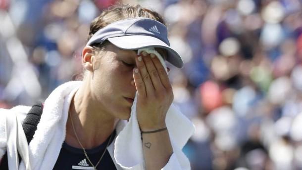 """Andrea Petkovic hat die """"Leidenschaft verloren"""""""
