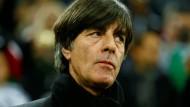 """""""Ich bin sehr zufrieden, weil ich wichtige Erkenntnisse gewonnen habe"""": Bundestrainer Joachim Löw."""