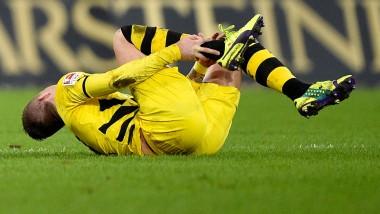 Schon wieder am Boden, schon wieder verletzt: Marco Reus