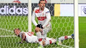 Stuttgart trotz Blamage in der K.o.-Runde