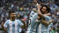 Argentinien hat einiges zu bejubeln bei der Copa America.