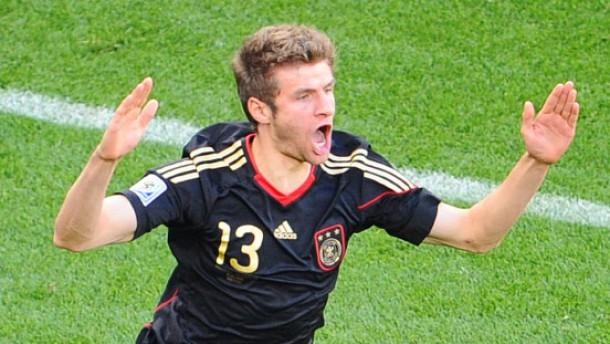 Gewinner des Goldenen Schuhs: Thomas Müller