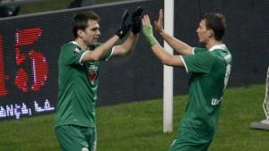 Wolfsburg gewinnt in der Nachspielzeit
