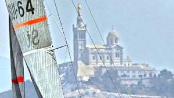 Deutsches Boot setzt Segel beim America's Cup
