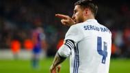 Immer wieder wertvoll für Real Madrid: der kopfballstarke Ramos