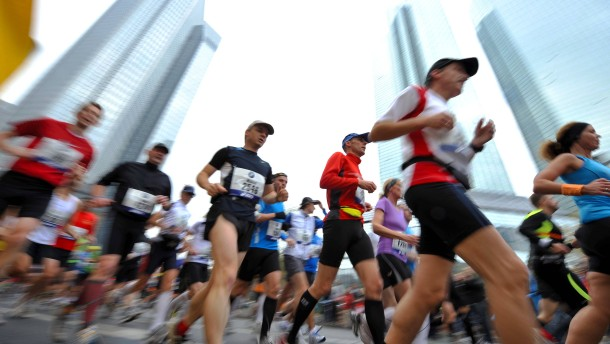 Frankfurt-Marathon vor der Absage