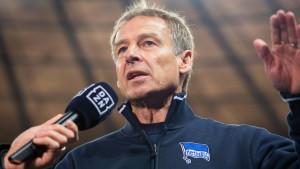 Zu viel Getöse von Klinsmann