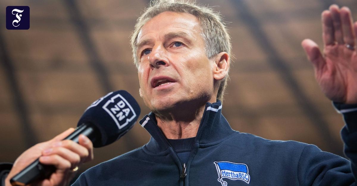 Aus bei Hertha BSC: Zu viel Getöse von Klinsmann