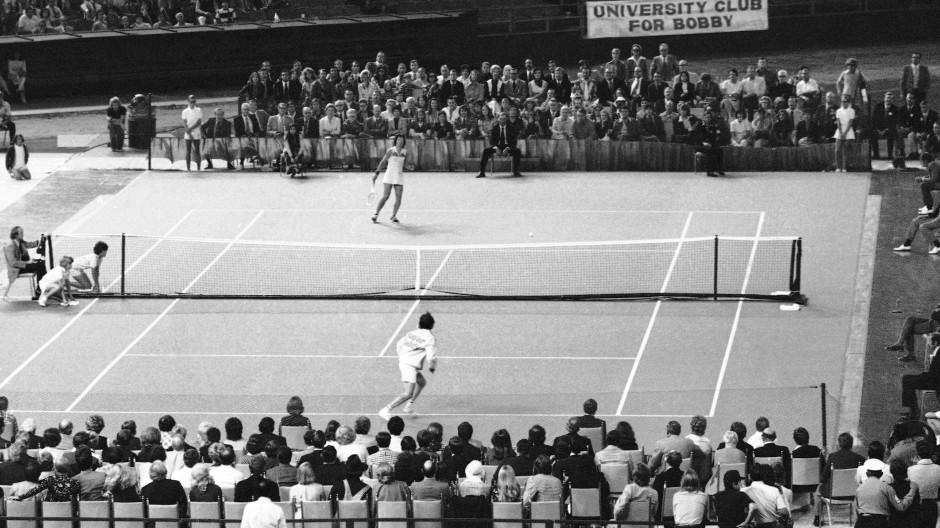 Das Duell Mann gegen Frau fand am 20. September 1973 in Houston statt.