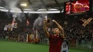 Totti, der Tore-Titan: Selfie für die Fankurve