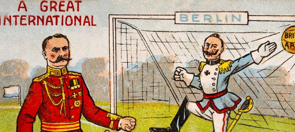 Kriegsspiel Fussball An Weihnachten 1914