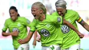 Wolfsburg holt das Double in Bullenhitze
