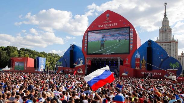 Russische Wirtschaft profitiert von Fußball-WM