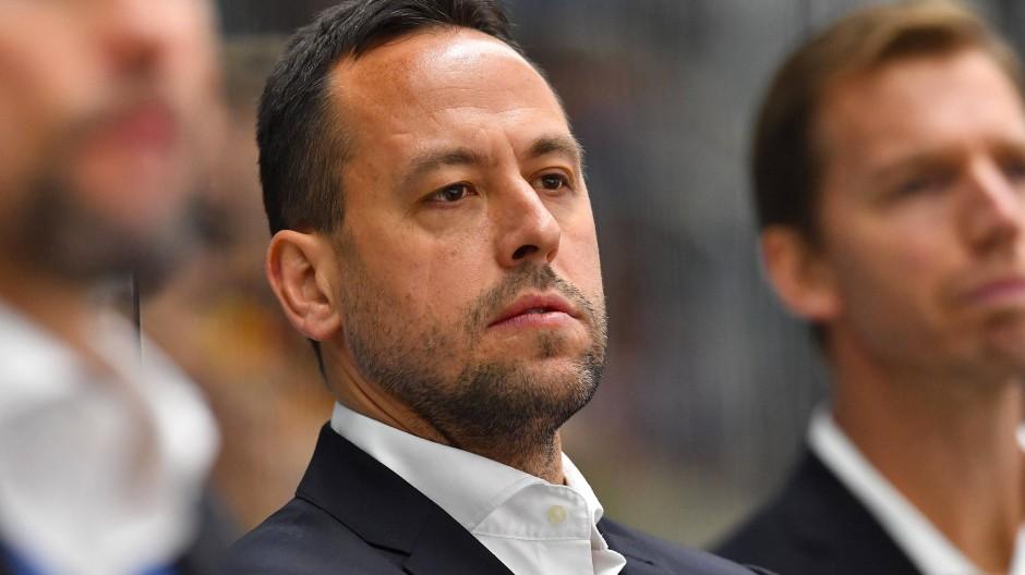 Bedient: Bundestrainer Marco Sturm