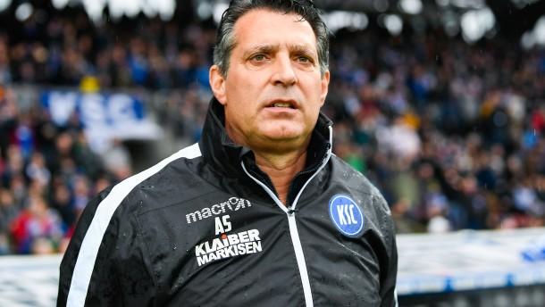 Karlsruher SC trennt sich von Trainer Schwartz