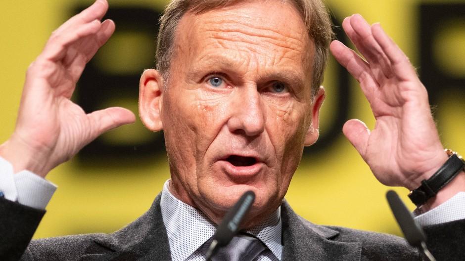 Hans-Joachim Watzkes Zeit bei Borussia Dortmund ist noch nicht zu Ende.