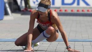 Chinesin sprintet zum Marathon-Titel