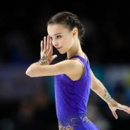 Siegerin bei Skate America: Die 15 Jahre alte russische Eiskunstläuferin Anna Schtscherbakowa