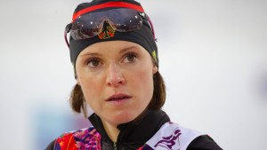 Evi Sachenbacher-Stehle beendet ihre Karriere