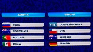 Spielplan des Confederations Cup 2017 in Russland
