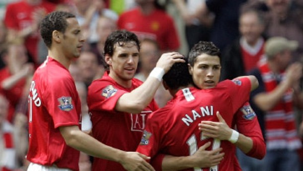 Ronaldos Doppelpack hält Manchester auf Meisterkurs