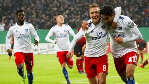 HSV hat leichtes Spiel gegen Nürnberg