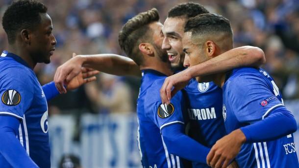 Das Schalker Weiterkommen ist schon sicher
