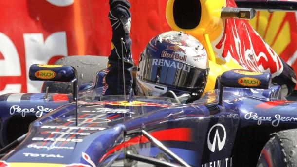 Vettel siegt auch im Chaos von Monaco