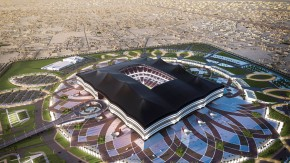 Schöne neue Fußballwelt? Dieses Stadion soll zur WM 2022 in Qatar gebaut werden