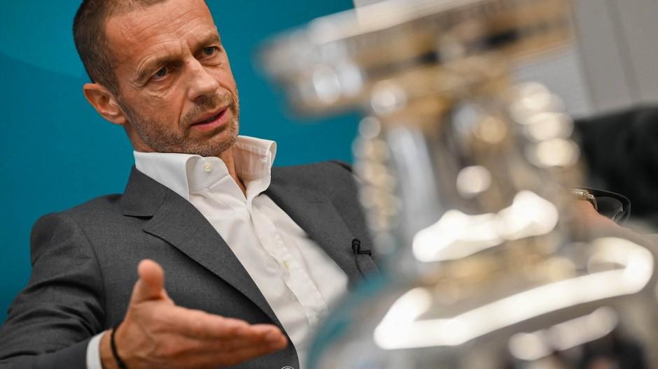 Uefa-Chef Alexander Ceferin: Interessen der EURO 2020 über den Interessen Europas.