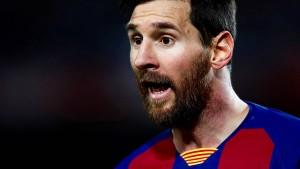 Erstaunlich scharfe Kritik von Messi
